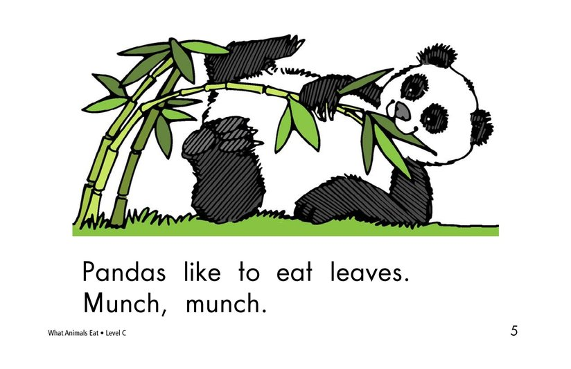 Book Preview For What Animals Eat Page 5