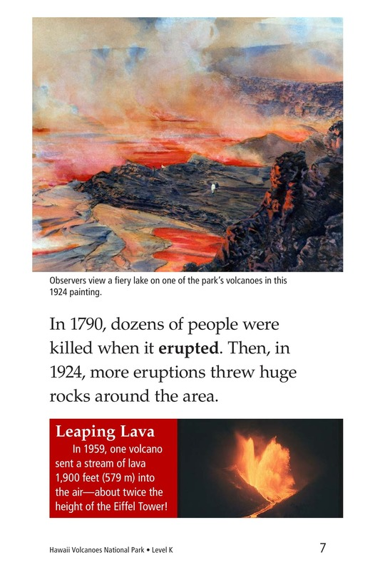 Book Preview For Hawaii Volcanoes National Park Page 7