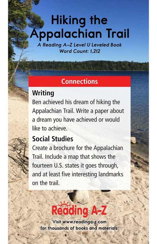 Book Preview For Hiking the Appalachian Trail Page 17