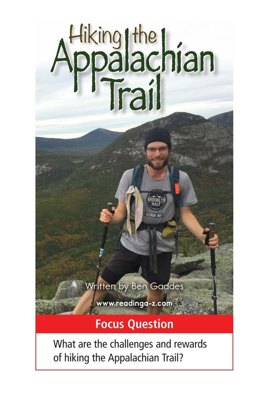 Book Preview For Hiking the Appalachian Trail Page 1