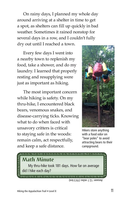 Book Preview For Hiking the Appalachian Trail Page 11