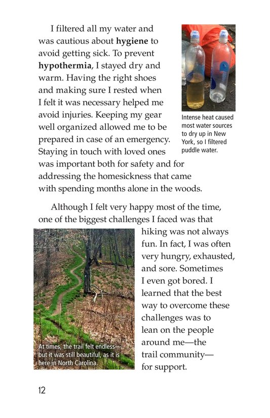 Book Preview For Hiking the Appalachian Trail Page 12