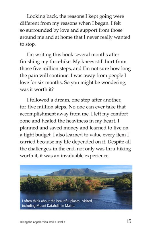 Book Preview For Hiking the Appalachian Trail Page 15