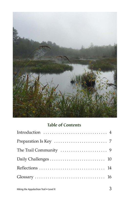 Book Preview For Hiking the Appalachian Trail Page 3