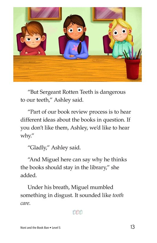 Book Preview For Noni and the Book Ban Page 13