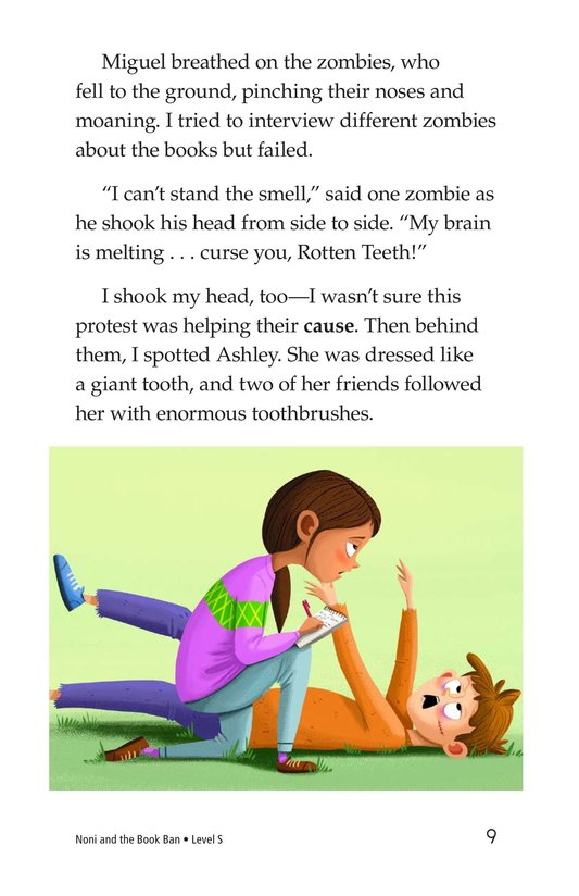 Book Preview For Noni and the Book Ban Page 9
