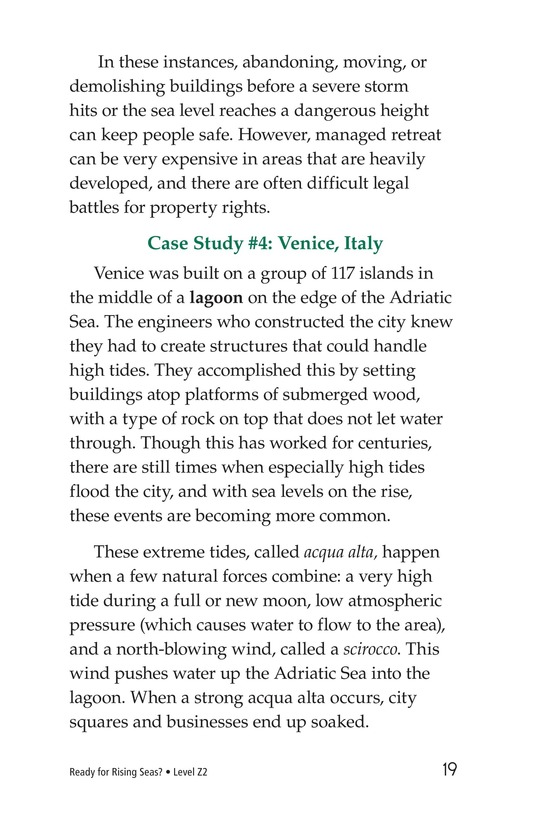 Book Preview For Ready for Rising Seas? Page 19