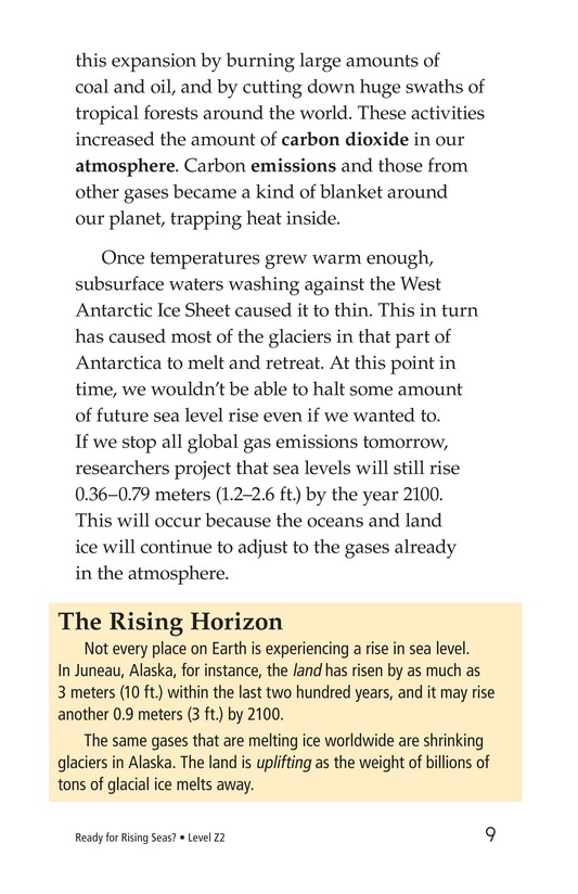 Book Preview For Ready for Rising Seas? Page 9