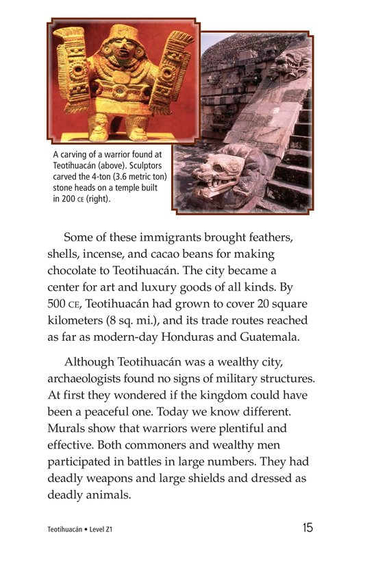 Book Preview For Teotihuacan Page 15