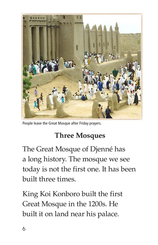 Book Preview For Great Mosque of Djenné Page 6