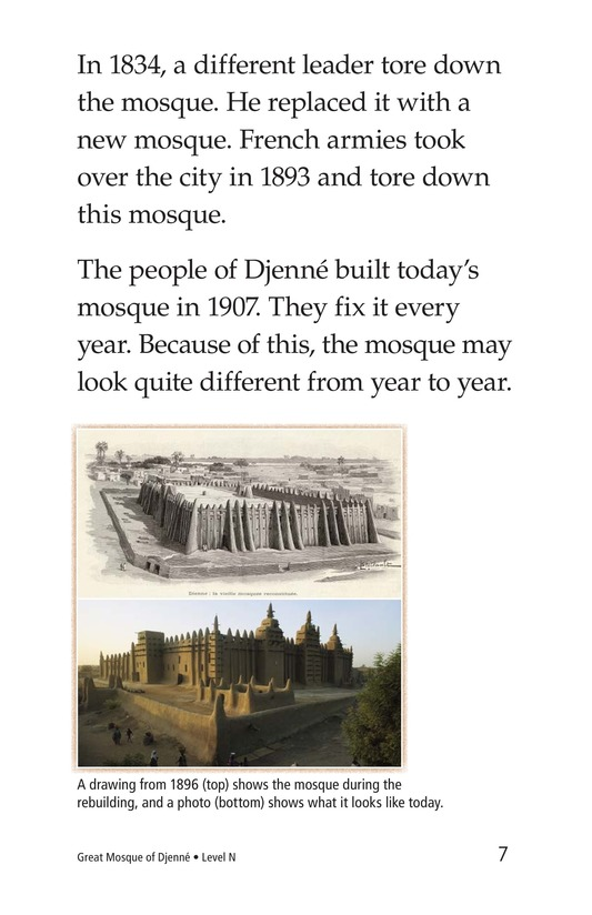 Book Preview For Great Mosque of Djenné Page 7