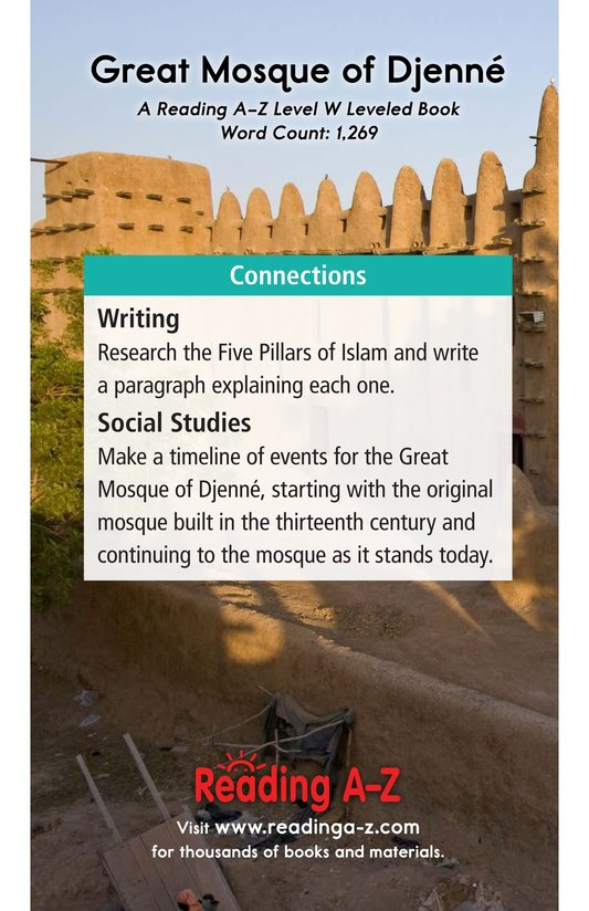 Book Preview For Great Mosque of Djenné Page 17