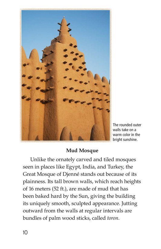 Book Preview For Great Mosque of Djenné Page 10