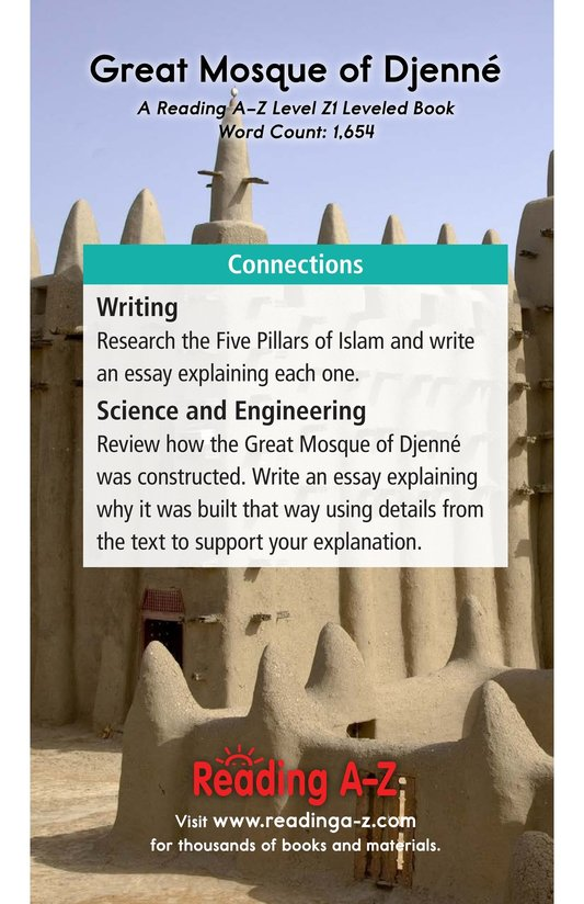 Book Preview For Great Mosque of Djenné Page 21