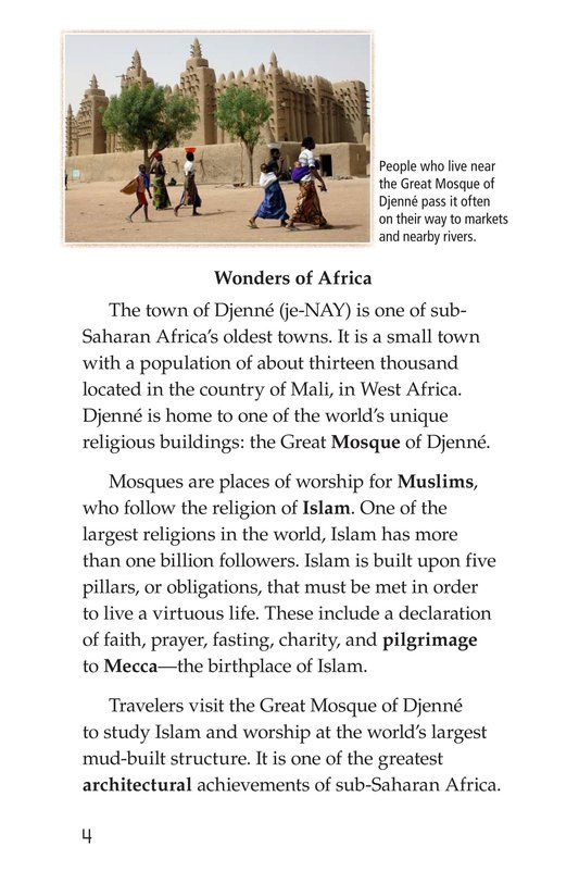 Book Preview For Great Mosque of Djenné Page 4