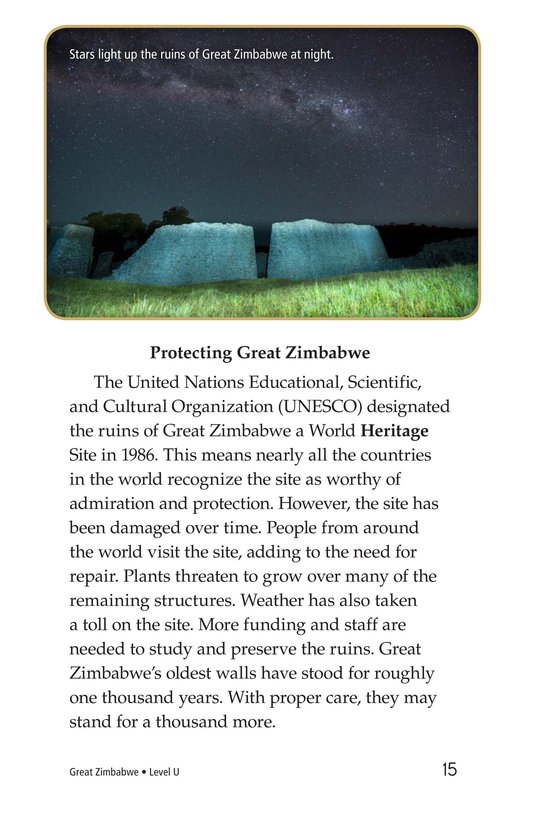 Book Preview For Great Zimbabwe Page 15