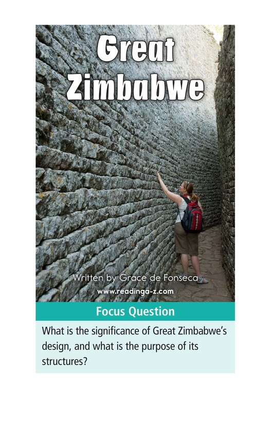Book Preview For Great Zimbabwe Page 2