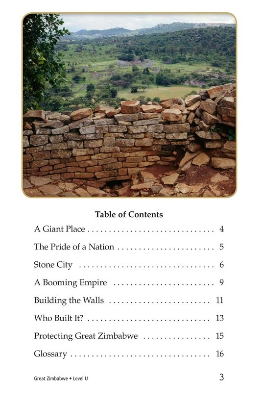Book Preview For Great Zimbabwe Page 3