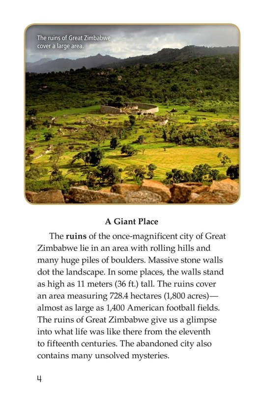 Book Preview For Great Zimbabwe Page 4