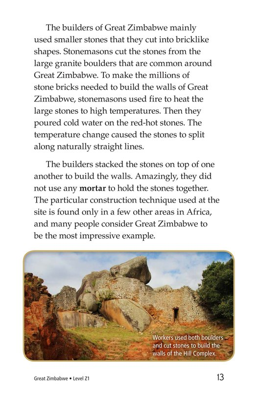 Book Preview For Great Zimbabwe Page 13