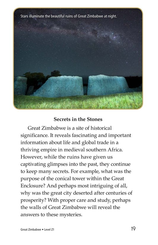 Book Preview For Great Zimbabwe Page 19