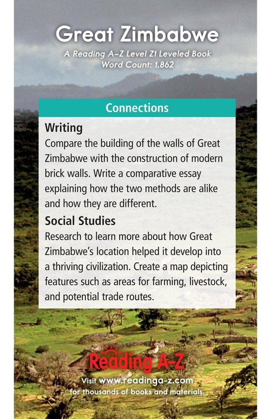 Book Preview For Great Zimbabwe Page 21