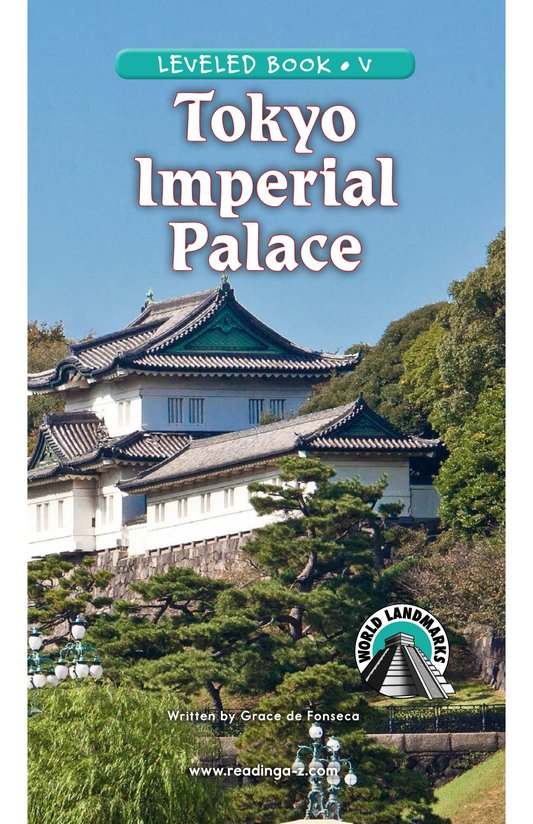 Book Preview For Tokyo Imperial Palace Page 0