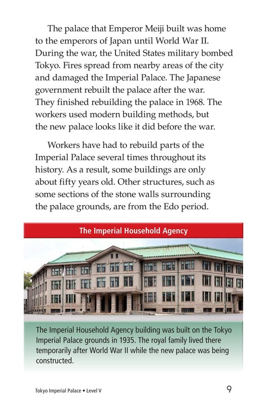 Book Preview For Tokyo Imperial Palace Page 9