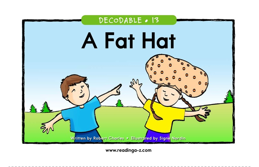 Book Preview For A Fat Hat Page 1