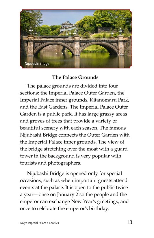 Book Preview For Tokyo Imperial Palace Page 13