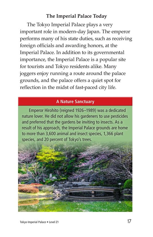 Book Preview For Tokyo Imperial Palace Page 17