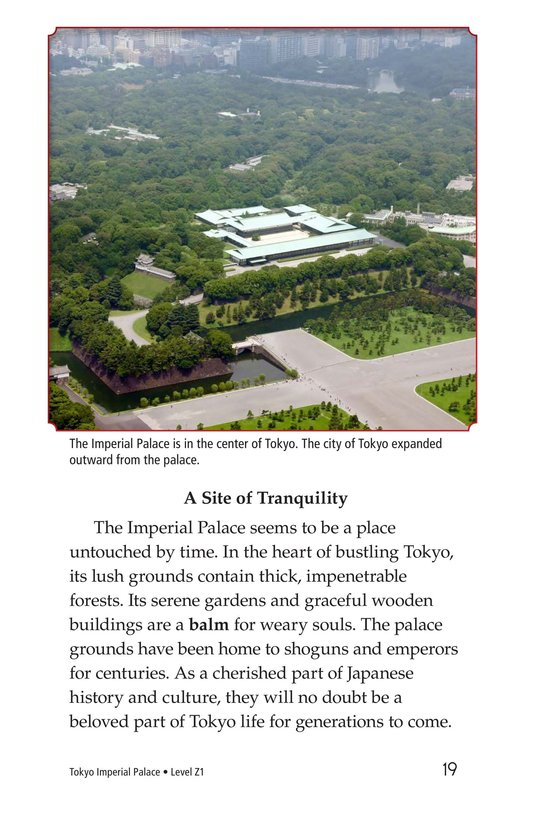 Book Preview For Tokyo Imperial Palace Page 19