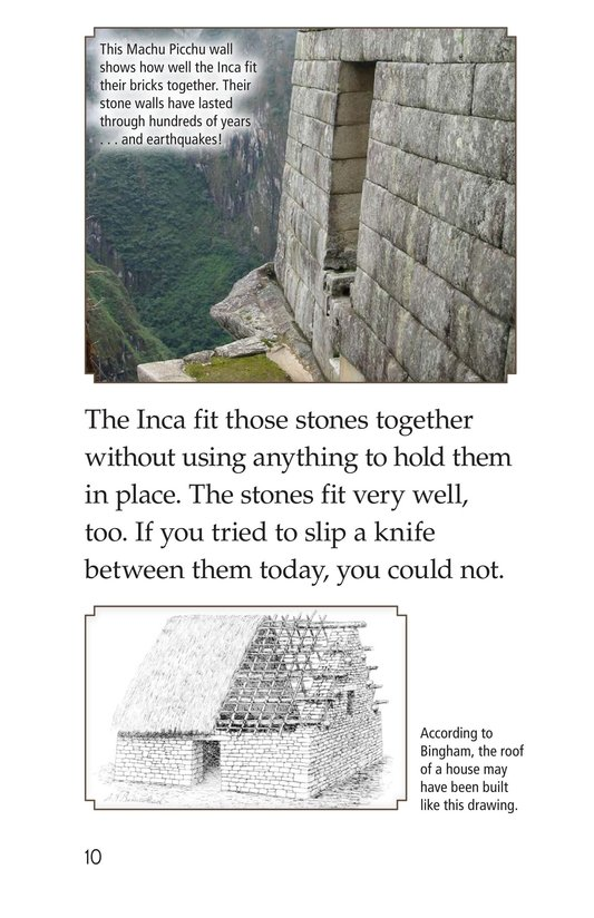 Book Preview For Machu Picchu Page 10