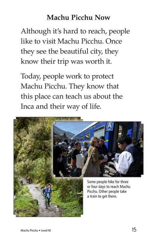 Book Preview For Machu Picchu Page 15