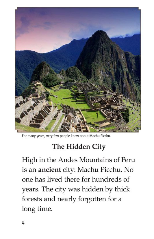 Book Preview For Machu Picchu Page 4