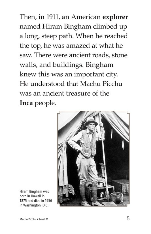 Book Preview For Machu Picchu Page 5