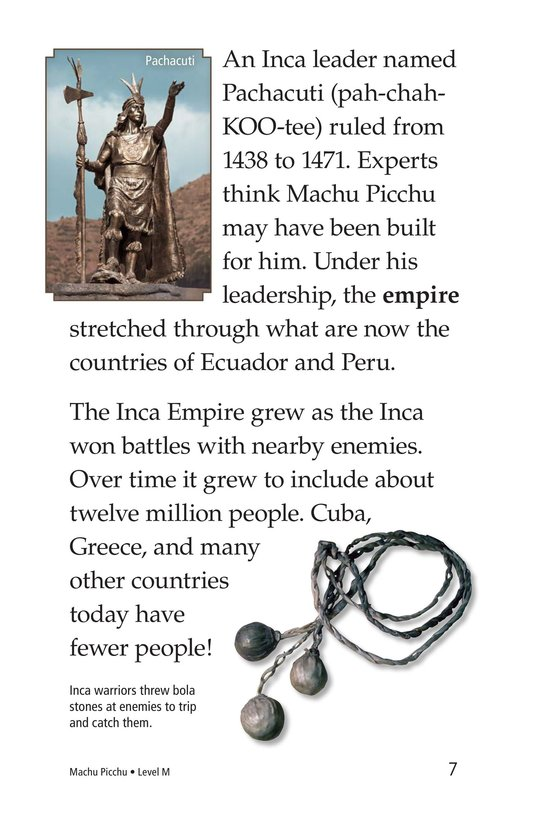 Book Preview For Machu Picchu Page 7