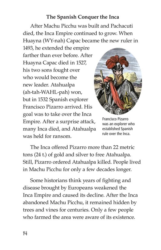 Book Preview For Machu Picchu Page 14