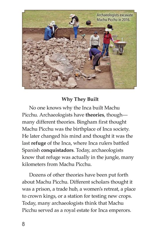 Book Preview For Machu Picchu Page 8