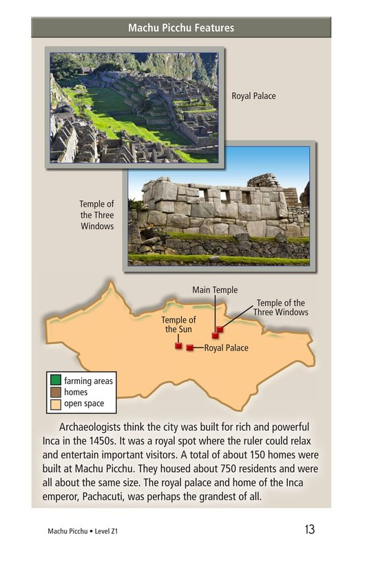 Book Preview For Machu Picchu Page 13