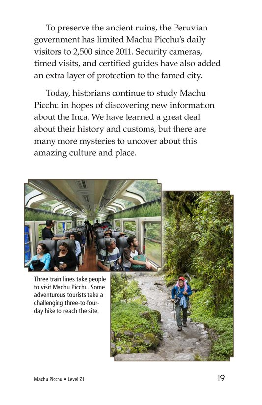 Book Preview For Machu Picchu Page 19