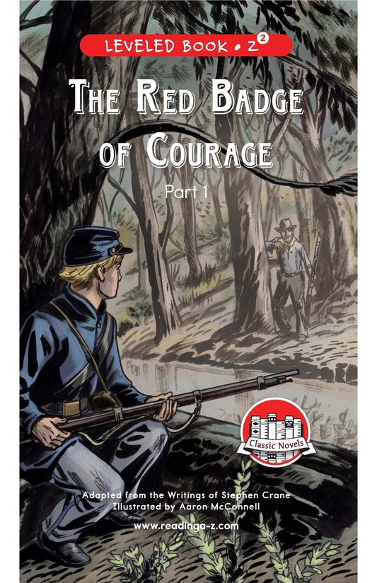 Book Preview For The Red Badge of Courage (Part 1) Page 0