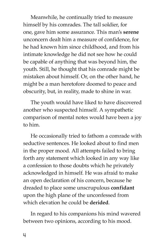 Book Preview For The Red Badge of Courage (Part 2) Page 4