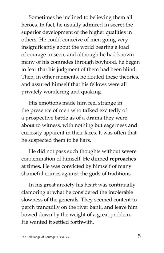 Book Preview For The Red Badge of Courage (Part 2) Page 5