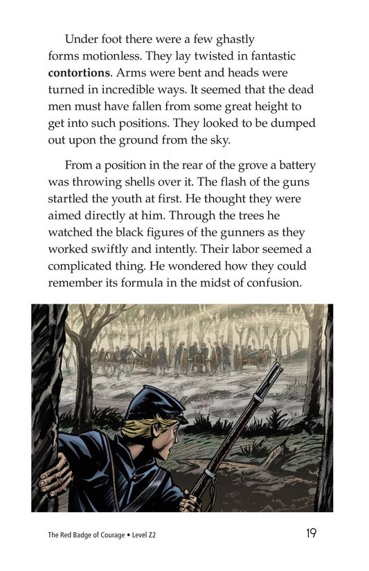 Book Preview For The Red Badge of Courage (Part 4) Page 19