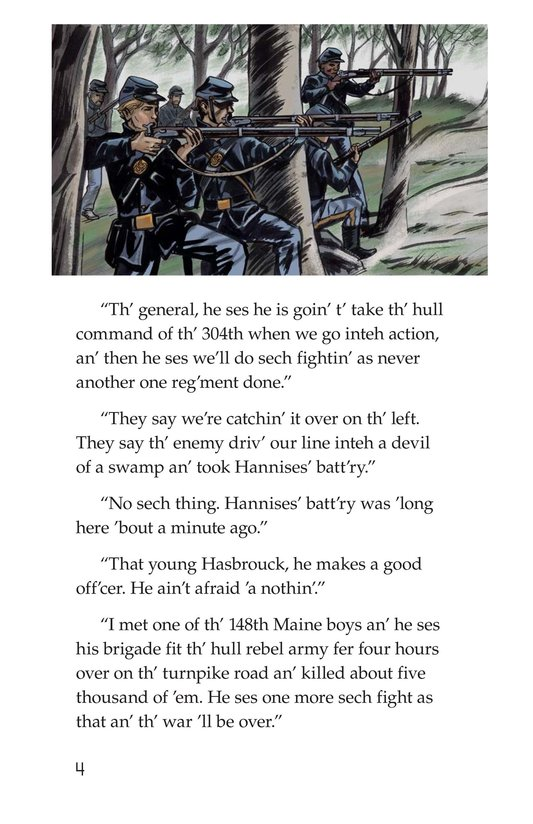 Book Preview For The Red Badge of Courage (Part 4) Page 4