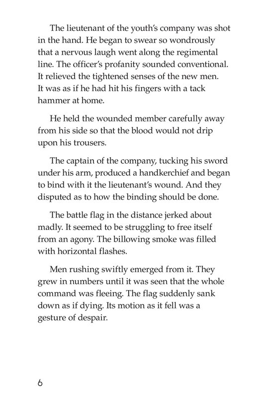 Book Preview For The Red Badge of Courage (Part 4) Page 6