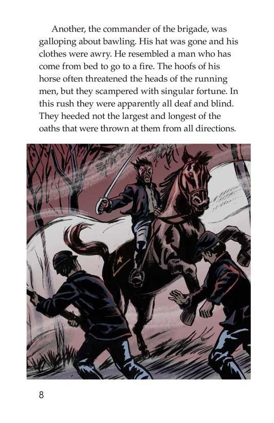 Book Preview For The Red Badge of Courage (Part 4) Page 8