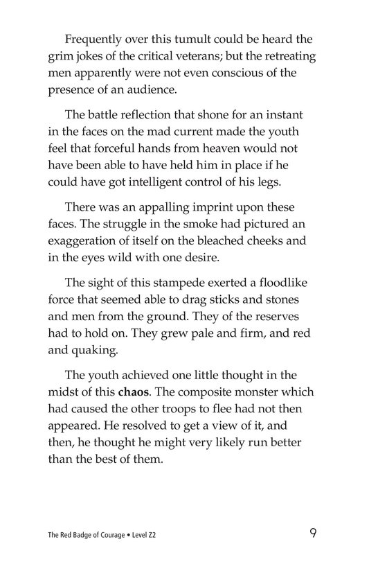 Book Preview For The Red Badge of Courage (Part 4) Page 9