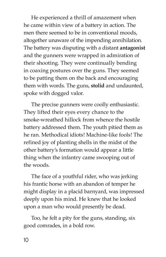 Book Preview For The Red Badge of Courage (Part 5) Page 10